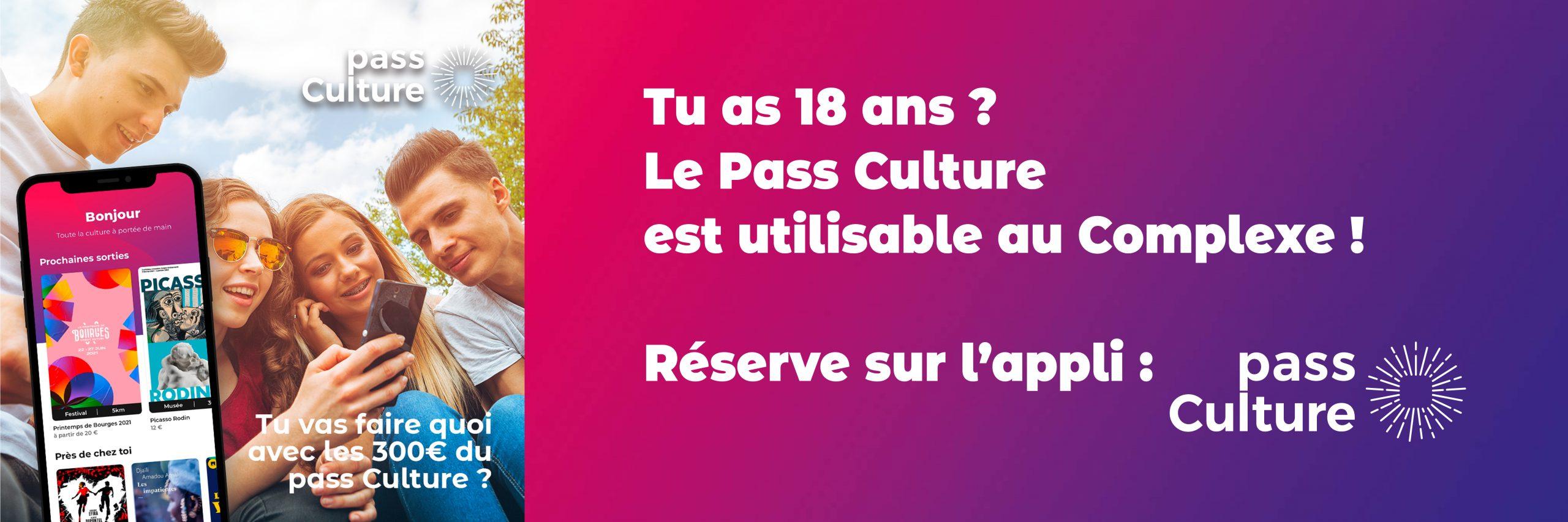 bandeau pass culture